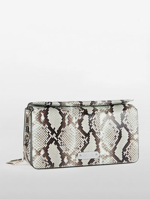 CALVIN KLEIN FLARED BOX CLUTCH