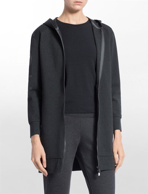 CALVIN KLEIN HOOD SWEAT WALKER JACKET