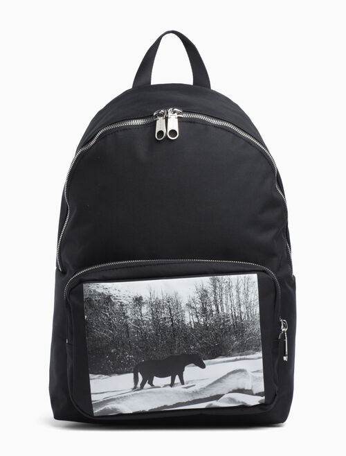 CALVIN KLEIN ANDY WARHOL PHOTO ART BACKPACK