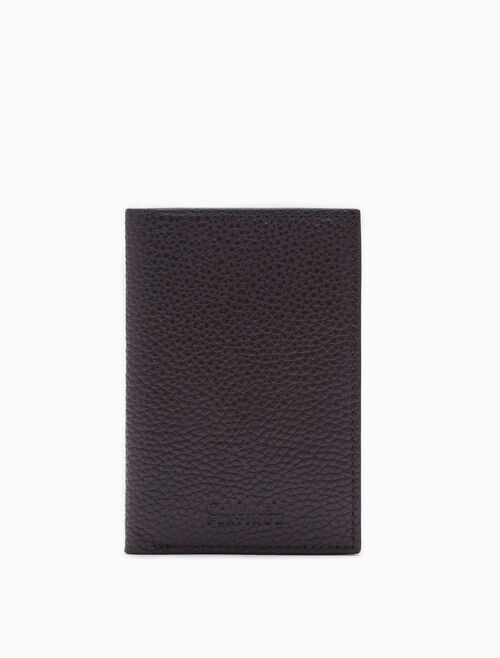 CALVIN KLEIN SLIM MICRO PEBBLE CARD CASE