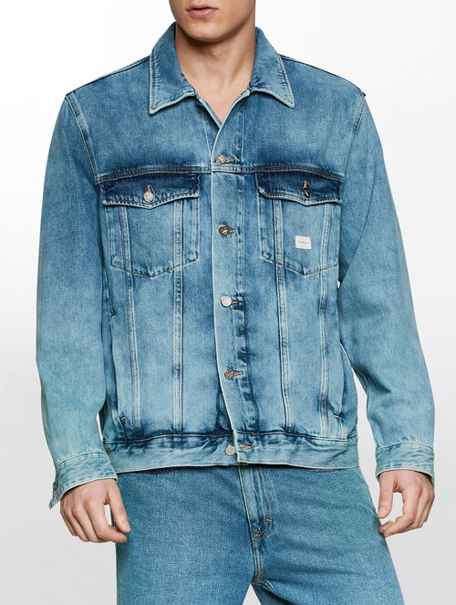CALVIN KLEIN VINTAGE LIGHT TRUCKER JACKET