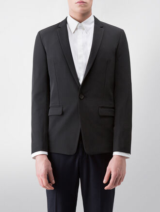 CALVIN KLEIN SOFT TECH TWILL BLAZER( JAMESON FIT )