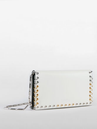 CALVIN KLEIN WALLET ON A CHAIN WITH STUDS