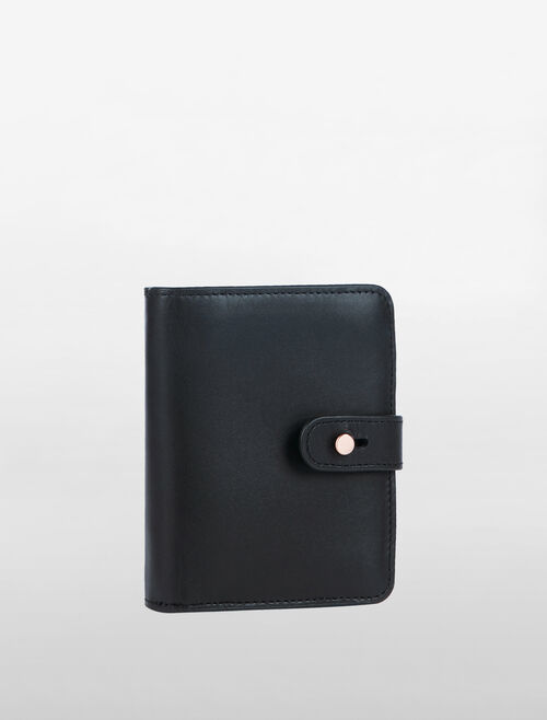 CALVIN KLEIN VACHETTA SMALL ZIP AROUND WALLET