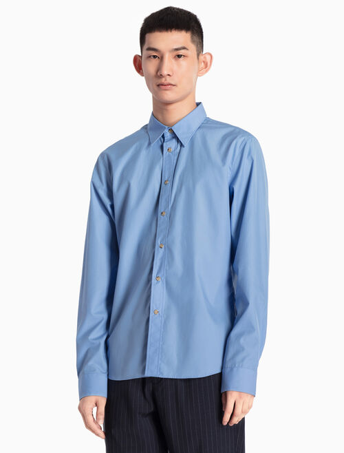 CALVIN KLEIN WOVEN SHIRT IN SLIM FIT