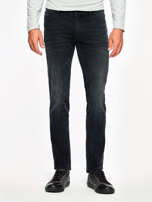 CALVIN KLEIN AMPLIFIED INDIGO VAPOR BLUE WASH SKINNY JEANS