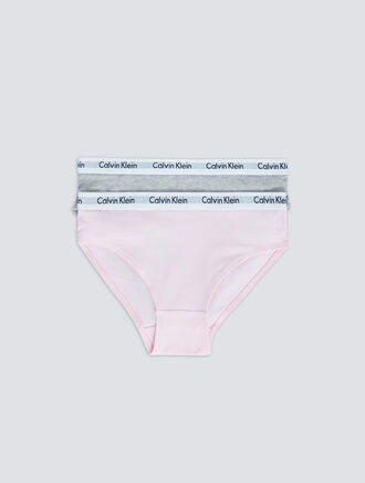 CALVIN KLEIN 2 PACKS KIDS LOGO MANIA BIKINI - GIRLS
