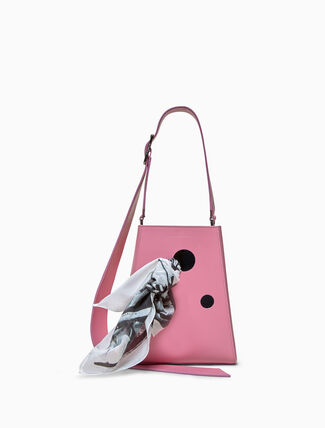 CALVIN KLEIN small bucket bag with bandana