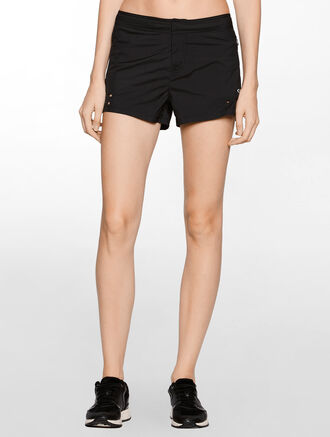 CALVIN KLEIN PERFORATED SHORT