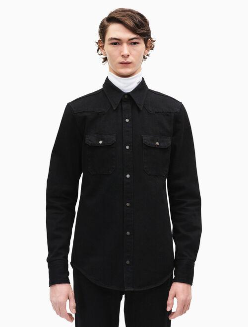 CALVIN KLEIN western denim shirt