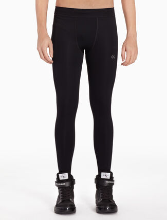 CALVIN KLEIN LOGO PERFORMANCE TIGHTS