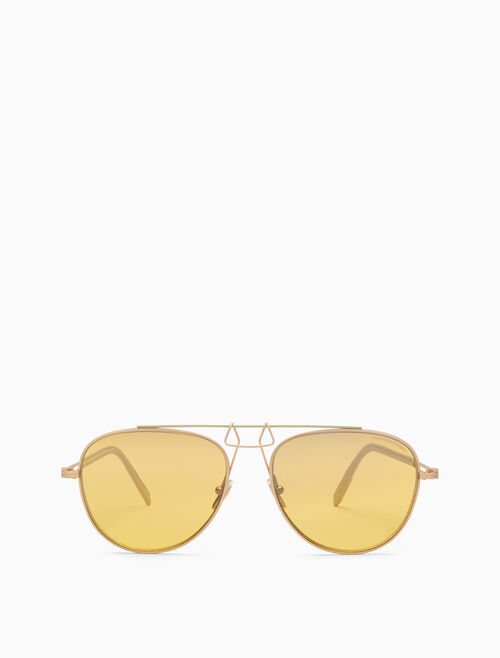 CALVIN KLEIN Clip bridge pilot sunglasses