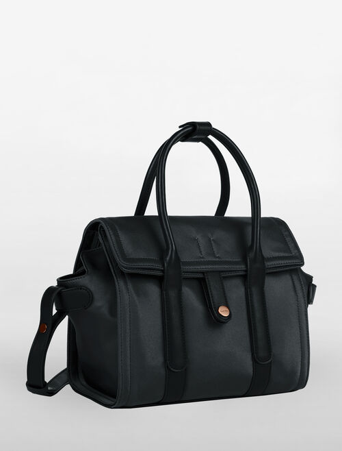 CALVIN KLEIN EDITION NYLON CITY SATCHEL