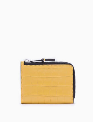 CALVIN KLEIN TEXTURED L-ZIP WALLET