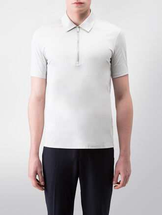 CALVIN KLEIN CERAMIC INTERLOCK SHORT SLEEVES POLO( C-SLIM FIT )