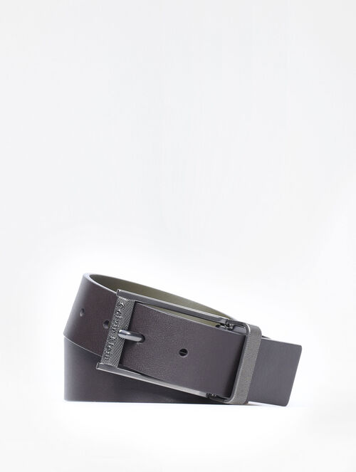CALVIN KLEIN REVERSIBLE PIN BUCKLE BELT
