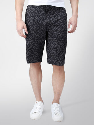 CALVIN KLEIN STRETCH PATTERN SHORTS