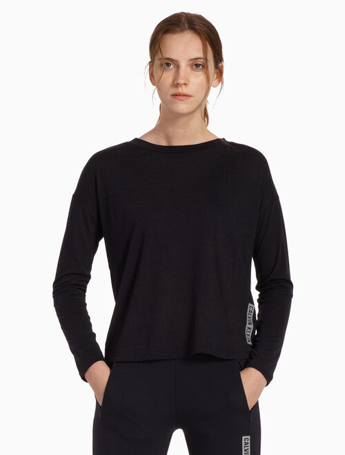 CALVIN KLEIN ICON LONG SLEEVE TEE