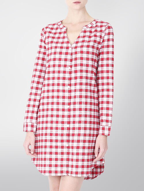 CALVIN KLEIN FLANNELS NIGHT DRESS
