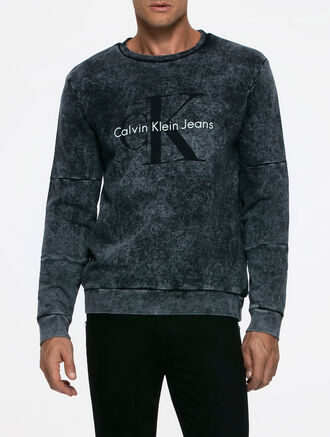 CALVIN KLEIN HINTER 1CREWNECKHKNIT LONG SLEEVES