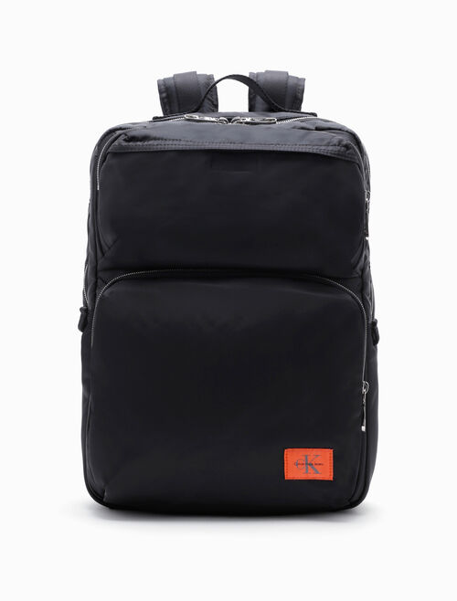 CALVIN KLEIN PILOT TWILL SQUARE BACKPACK