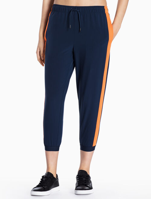 CALVIN KLEIN POP STRIPED SWEAT PANTS