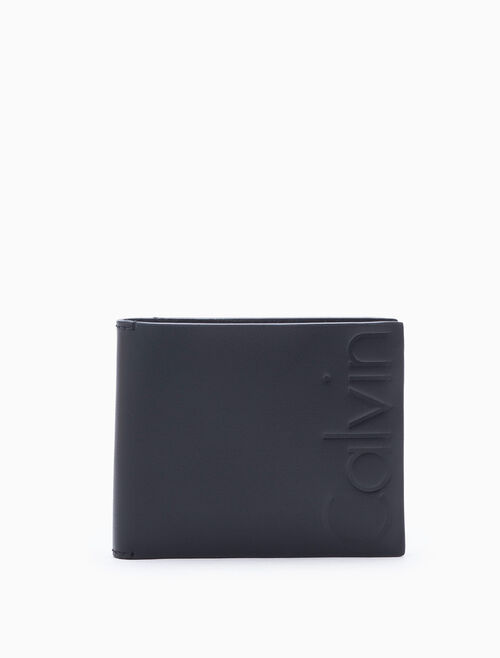 CALVIN KLEIN CALVIN PRINT BILLFOLD WALLET WITH CARD CASE