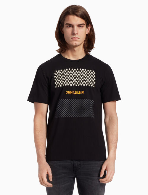 CALVIN KLEIN GRAPHIC PRINT REGULAR TEE