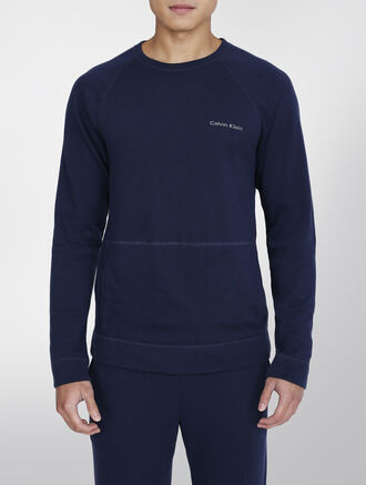 CALVIN KLEIN SOFT LOUNGE LONG SLEEVE PULLOVER