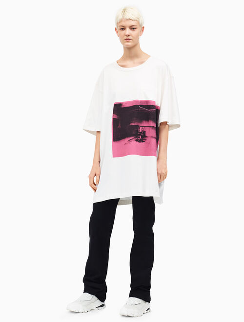 CALVIN KLEIN Little Electric Chair シャツドレス
