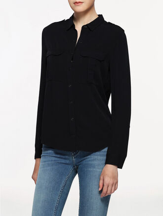 CALVIN KLEIN WALIDA POCKET SHIRT
