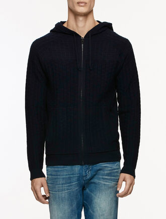 CALVIN KLEIN CATHAL ZIP SWEATER