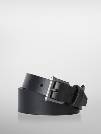CALVIN KLEIN DOUBLE BUCKLE FASHION BELT