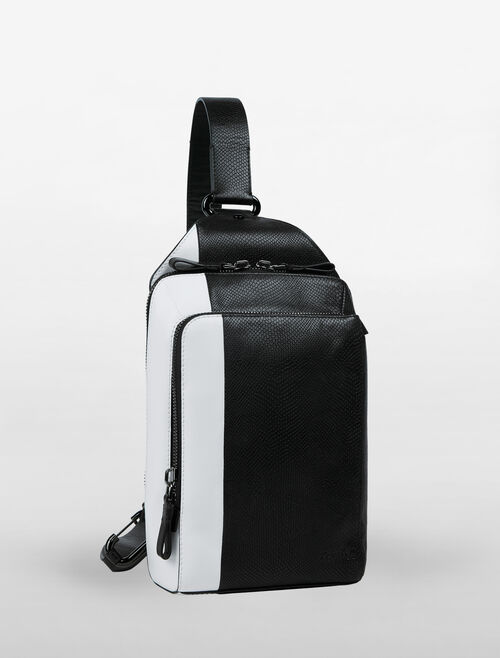 CALVIN KLEIN ENGINEERED CITY MONO SLINGS SHOULDER BAG