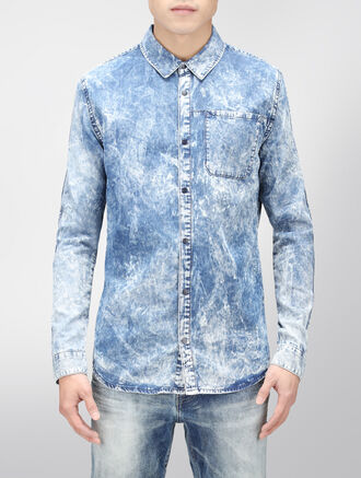 CALVIN KLEIN REEF DENIM SHIRT