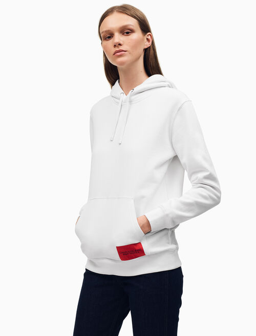 CALVIN KLEIN Warhol Portrait Relaxed Fit Hoodie
