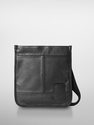 CALVIN KLEIN GRAYSON LEATHER FLAT PACK