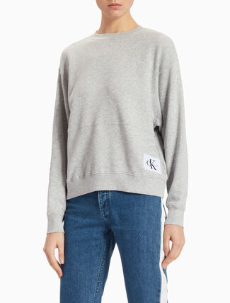 CALVIN KLEIN AMPLIFIED LOOSE FIT SWEATSHIRT