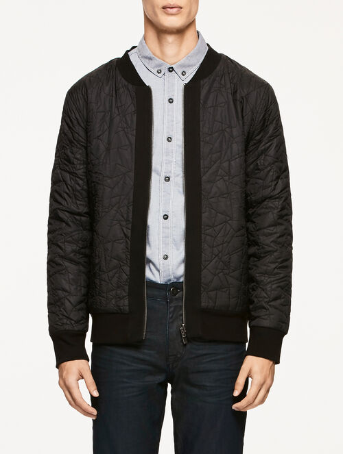 CALVIN KLEIN JEB REVERSIBLE QUILTED BOMBER JACKET