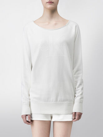CALVIN KLEIN LONG+LEAN SWEATSHIRT - LIMITED EDITION CAPSULE