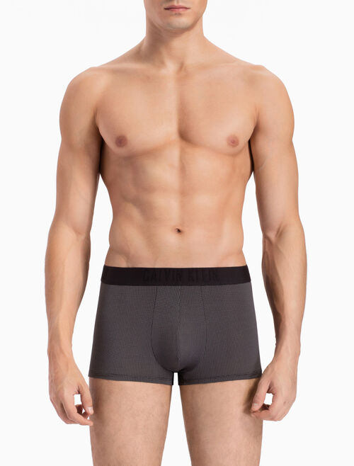 CALVIN KLEIN HOLIDAY CK BLACK REFINED LOW RISE TRUNK