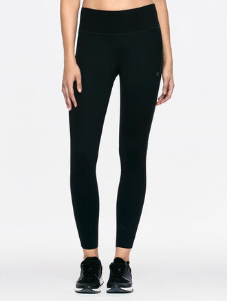 CALVIN KLEIN LAMINATED LEGGINGS