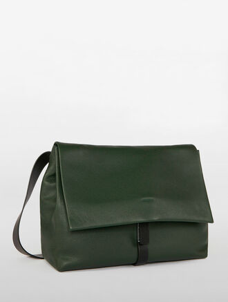 CALVIN KLEIN PLATINUM SLATED MESSENGER BAG