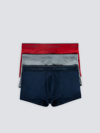 CALVIN KLEIN MICRO STRETCH LOW RISE TRUNK 3PACKS
