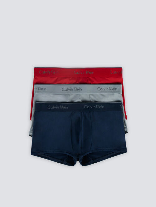 CALVIN KLEIN MICRO STRETCH LOW RISE TRUNK 3 PACK