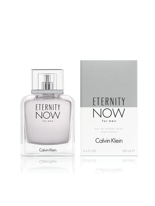 CALVIN KLEIN ETERNITY NOW FOR MEN EAU DE TOILETTE SPRAY 100ML