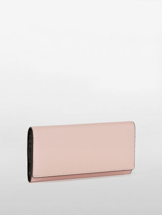 CALVIN KLEIN CLASSIC LONG FLAP WALLET
