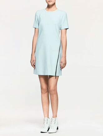 CALVIN KLEIN MODERN SHORT SLEEVE DRESS