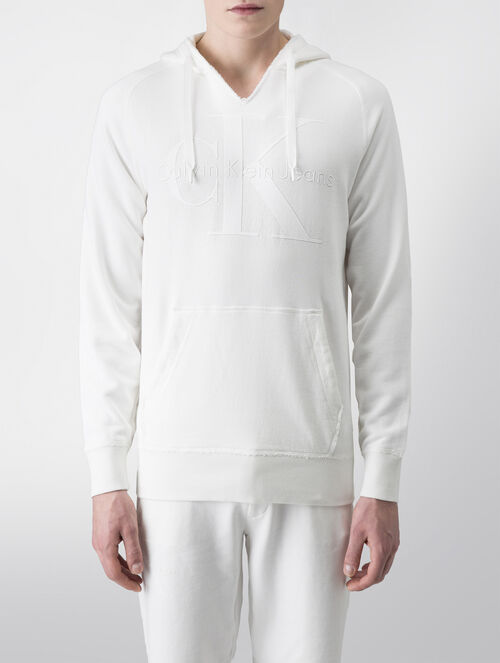 CALVIN KLEIN PULL-ON HOODIE SWEATSHIRT  - LIMITED EDITION CAPSULE