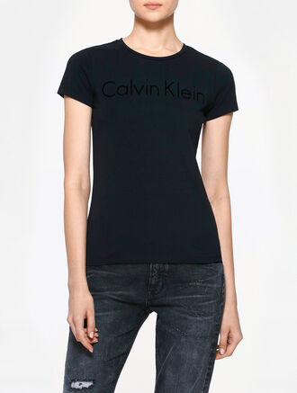 CALVIN KLEIN INSTITUTIONAL LOGO T-SHIRT